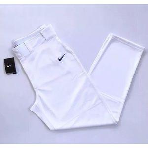 Nike Dri - Fit Baseball Pants White Sz S NWT